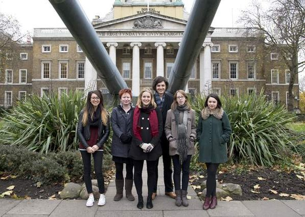 Collaborative Doctoral Award students outside Imperial War Museum London © IWM