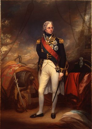 Admiral Lord Admiral Nelson 1801 by William Beechey (1753 - 1830) copyright Norfolk Museum Service
