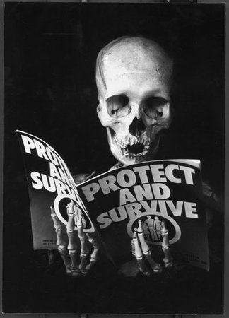 Protect and Survive, c. Peter Kennard, 1981
