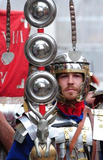 Eboracum Roman Festival, by Anthony Chappel Ross.