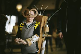Cardboard invention workshop