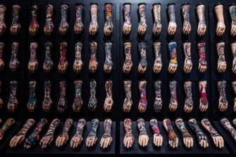 100 hands landscape by Luke Hayes Courte