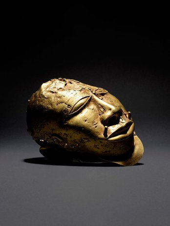 Gold Trophy Head, 19th century or earlier, Asante Kingdom, c. The Wallace Collection