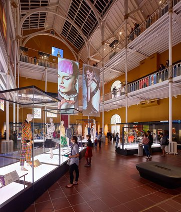 Fashion Galleries at the National Museum of Scotland