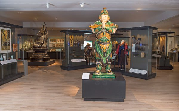 The new East Asia gallery at the National Museum of Scotland