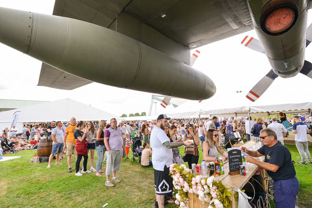 The Food Festival at RAF Museum Cosford