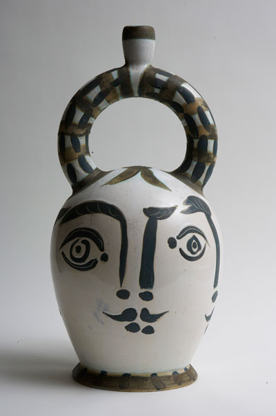 Heads of women Aztec Vase by Pablo Picasso. Courtesy of the Estate of Lord and Lady Attenborough