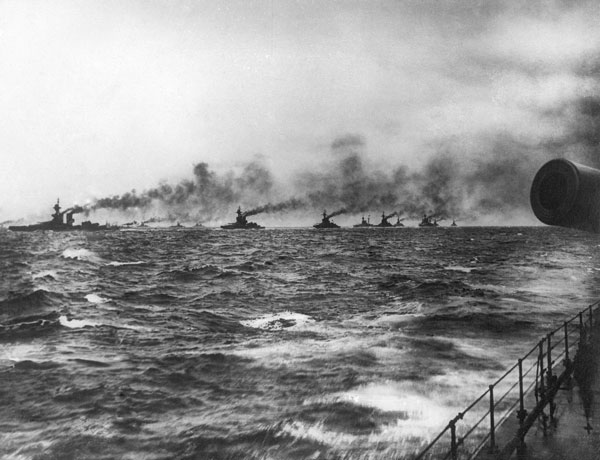 The Grand Fleet at Sea, courtesy of the National Museum of the Royal Navy.  The museum is making preparations to commemorate the Battle of Jutland in 2016.