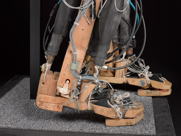 Feet of a biped robot. Courtesy of the Board of Trustees of the Science Museum.