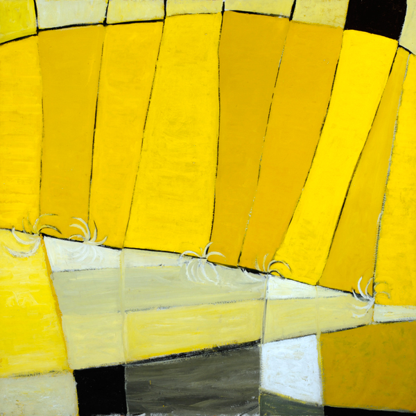 Terry Frost 'High Yellow' from an exhibition at Leeds Art Gallery from 19th June.