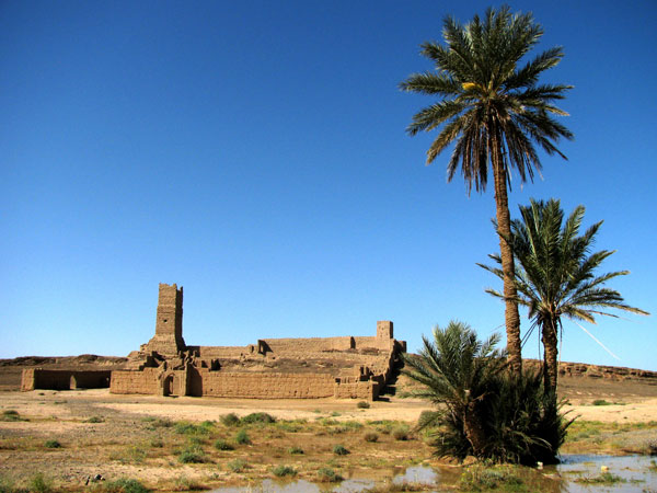 Bordj of Erfoud East, Sahara. c Berny Sèbe