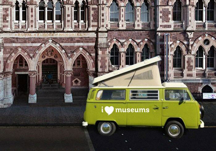::The I Love Museums campaign took to the road in late October.