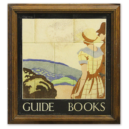 october_2014_newsletter/resizejackfield-tile-museum-john-scott-collectin-wh-smith-guide-books-panel,-artist-unknown,-script-by-eric-gill-c1920_1.jpg