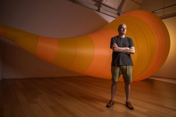 Michael Shaw, photo Matt Austin, courtesy of RAMM