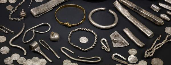 Viking hoard courtesy of York Museums Trust