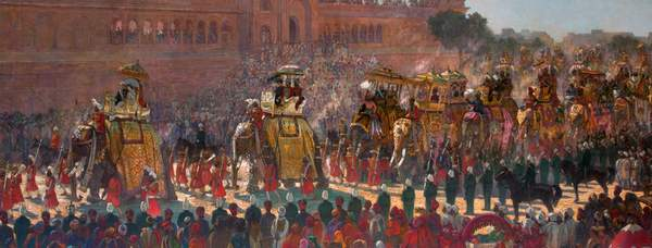 The state entry into Delhi courtesy of Bristol Museums and Art Gallery